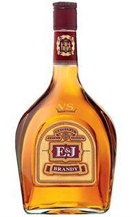 E & J Distillers Brandy V.S. 750ml